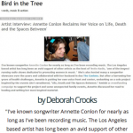 Bird in the Tree Artist Interview