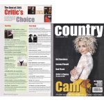 "Critic's Choice Top Ten Best Album of 2015"" in Country Music People (Jan 2016)"