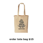 Tote: Logo tote for $15
