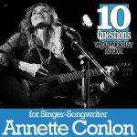 Vegan Street: 10 Questions: Vegan Rock Star with Annette Conlon...