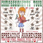 Annette Conlon heads out on the Compassionette Tour Sept 24 - Oct 1, 2016